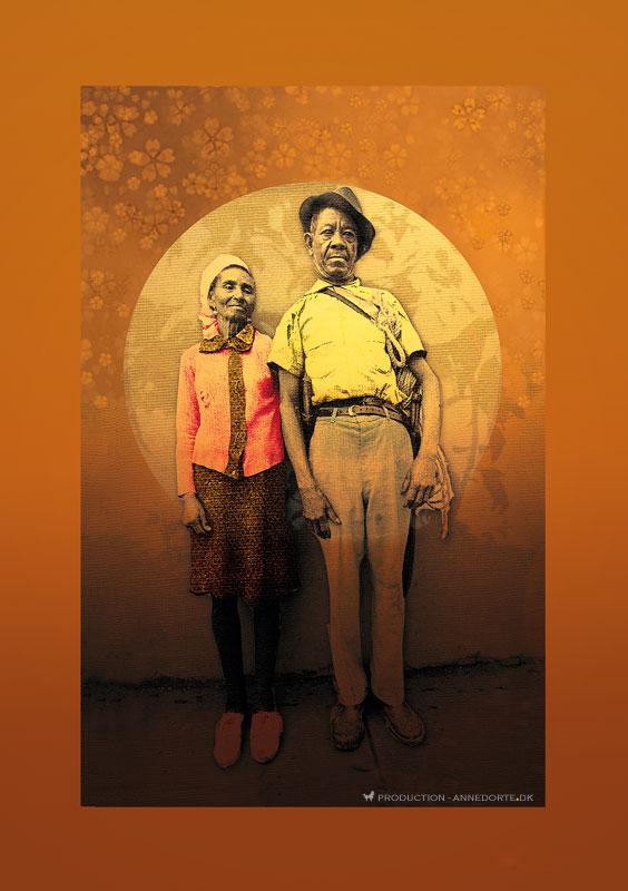 Plakat & Anledningskort Couple
