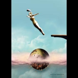 Plakat & Anledningskort Just Jump! Student