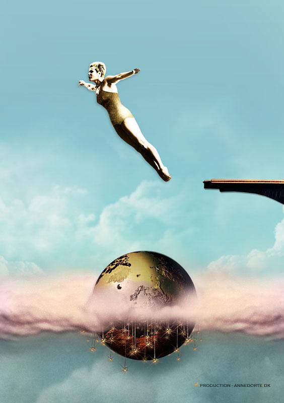 Plakat & Anledningskort Just Jump!