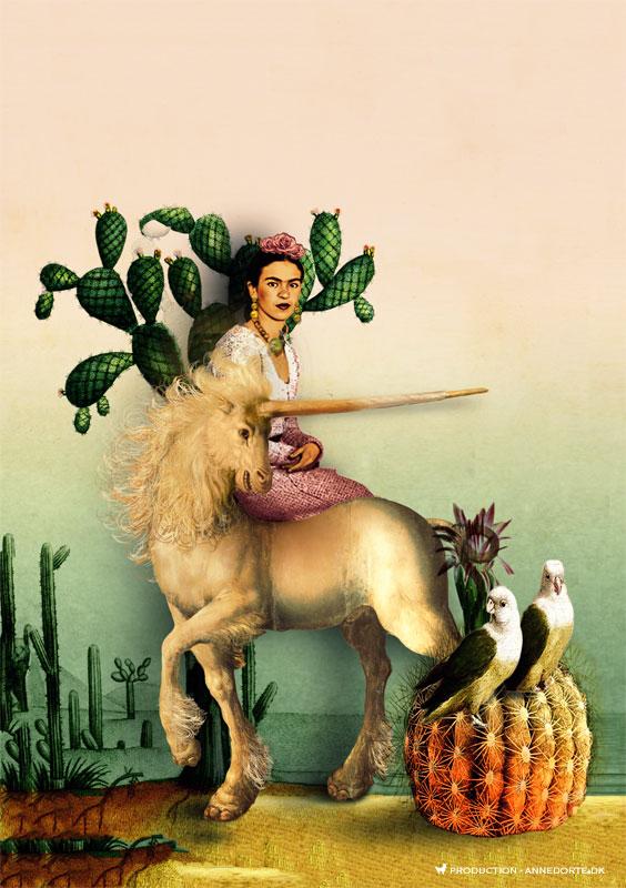 Plakat Frida Kahlo